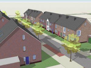 Woningbouwproject in Nijkerkerveen
