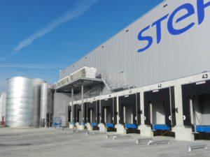 Distributiecentrum STEF in gebruik