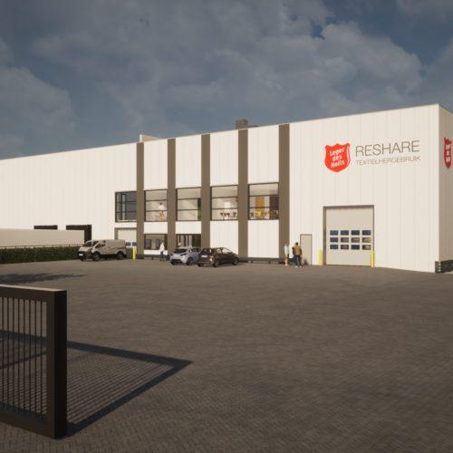 Textiel sorteercentrum